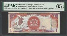 Trinidad & Tobago One Dollar 2006 P46A Uncirculated Grade 65