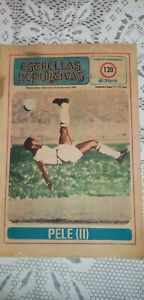 fifteen magazines with biography and more of great footballers, Pelé, Schiaffino