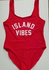 Island Vibes Size-XL Backless Monokini Swimsuit party swimwear Medium thickness