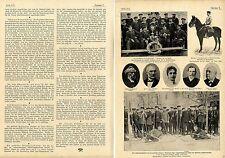 Schneeschuh-Sport in der Armee Jägerkommando Skiklub Schwarzwald c.1900