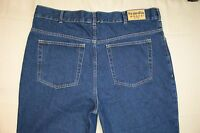 Men's Scandia Woods Straight Leg Jeans Size 40 X 32 Dark Wash Denim