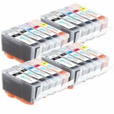20 Ink Cartridges (5 Set) for Canon PIXMA iP4850 iP4950 iX6550 MG5150 MG5200