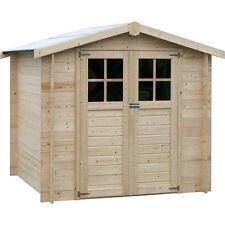 Casetta in legno quadrata 209x209 cm Michela capanno degli attrezzi