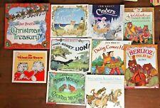 Lot 10 JAN BRETT Picture books Christmas Treasury Gingerbread Baby Daisy Honey