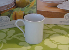 HUTSCHENREUTHER Porzellan MARIA THERESIA weiß Kaffee-Becher Tasse NEU