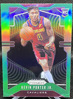 Kevin Porter Jr 2019-20 Panini Prizm Green Parallel RC Rookie Refractor Cavs
