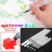 155mm Artist Paint Brush Set Nylon Hair Watercolor Acrylic Oil Painting Supplies
