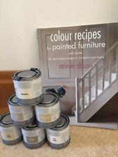 """Annie Sloan Paint 3 X 120ml tins of paint (choice)+ loan """"Colour Recipes""""a"""