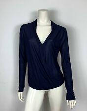 Promod maglia donna usato manica lunga top camicetta elegante sintetica T6030