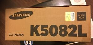 Genuine Samsung CLT-K5082L High Yield Black Toner 620 670 5082 6220 6250 VAT INC