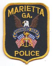 **MARIETTA GEORGIA POLICE PATCH**