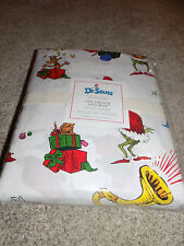 New Pottery Barn Kids Dr. Seuss The Grinch and Max Duvet Cover full-queen
