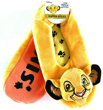 Disney König der Löwen Pantoffeln Tier Hausschuhe Simba Slipper 36-37-38 Primark
