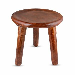 End Table/Stool for Living Room Side/Round Corner Table Foldable Furniture