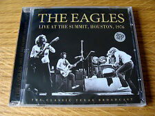 CD Double: The Eagles : Live At The Summit Houston 1976 : 2 CDs Sealed