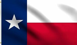 3x5 Texas TX State Flag foot banner grommets polyester