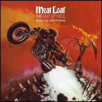 MEAT LOAF - BAT OUT OF HELL CD w/BONUS Trax! ~ 70's CLASSIC ~ MEATLOAF *NEW*