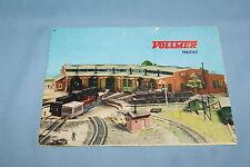 Vollmer Katalog Catalog 1962-63 NL
