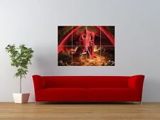 Mythical Dragon Fantasy Red Treasure Giant Wall Art Poster Print
