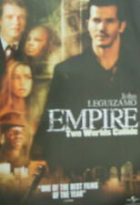 John Leguizamo EMPIRE(2002)  Original UK video release poster