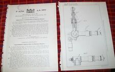 EXPLOSION ENGINES IGNITION GEAR PATENT. CREESE. 1900