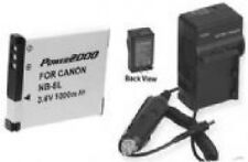 Battery + Charger for Canon A2200IS A3000IS A3100IS A3200IS A3300IS A3350 IS