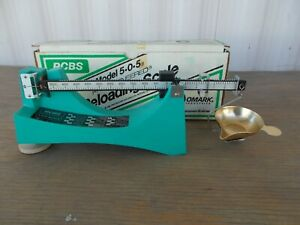 RCBS Model 5-0-5 RELOADING SCALE  - New In Box