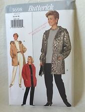 Butterick 3698 Sewing Pattern misses Jacket and Pants sizes 12-14-16