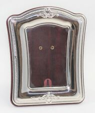 Cornice Argento 925 Portafoto 6,5 x 9 cm Retro in Legno Made in Italy New Daniel