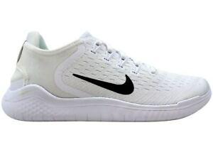 Women Nike Free RN 2018 White Black 942837-100 New