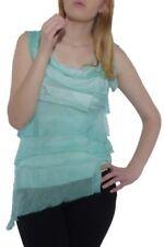 Maglie e camicie da donna verdi girocollo , Taglia 40