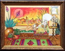"Gib Singleton ""Home Sweet Home"" Giclee on Canvas with Custom Frame Hand Signed"