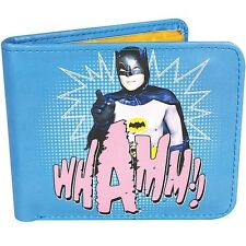 1966 BATMAN WALLET DC COMICS RETRO CARD COIN ID SECTION GIFT FAUX LEATHER KNIGHT