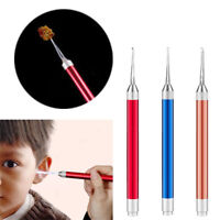 Ear-pick Earwax Cerumen Remover Cleaner Curette With LED Flashlight Light New