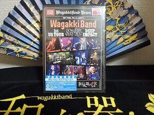 Wagakki Band 1St Us Tour Deep Impact Limited Edition Blu-Ray Japan New F/S