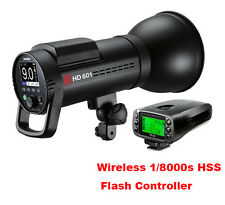 Jinbei HD-601 HSS Mobile Battery Studio Strobe Flash  + HSS Flash Controller