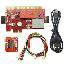 hot PCI PCIE MiniPCI-E Diagnostic Card for PC Laptop Tester Notebook Debug card