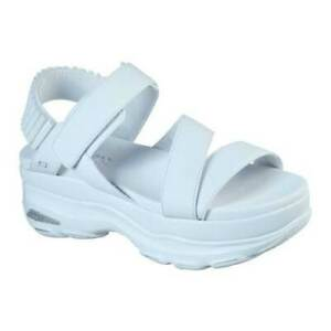 Skechers Women's   Cloud Ultra Strappy Platform Sandal