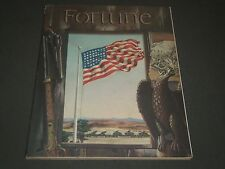 1942 JULY FORTUNE MAGAZINE - GREAT ADS - AMERICAN FLAG COVER - F 140