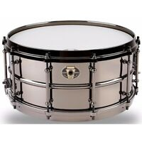 "Ludwig LW6514 Black Magic Snare Drum, 6.5"" x 14"", Black Nickel"