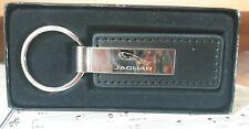 Jaguar Keychain/Key Ring Premium Black Leather Key Chain Custom Boxed KC1540.JAG