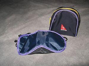 Qantas Airlines Bag - QF Australia Airplane Passenger Amenity RON Travel Kit