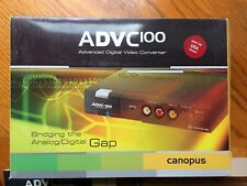 Canopus ADVC-100 Advanced DV Convertor AC adaptor Original Box