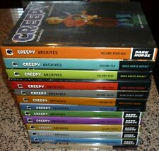 Lot of 13 Creepy Archives 5,6,7,8,9,10,11,16,18,19,20,21,23, Hardcover Books