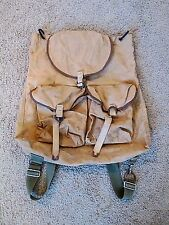Vintage Canvas Military Backpack Shabby Dirty Steampunk