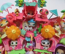 Littlest Pet Shop Playset Lot Random Dog Cat House and Accessories Set