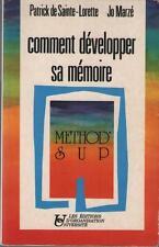 Comment Développer sa Mémoire - Patrick de Sainte Lorette & Jo Marzé