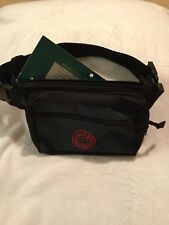 Bullseye Fanny Pack Large Heavy Duty Nylon Water Resistant Green New