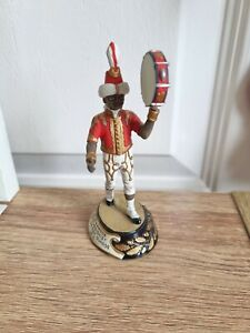 Chas c stadden figures Blackamoor Percussionist The 3rd Foot Guards 1815