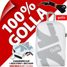 New Golla Universal Compact Digital Camera Case Bag White for Canon Sony Samsung